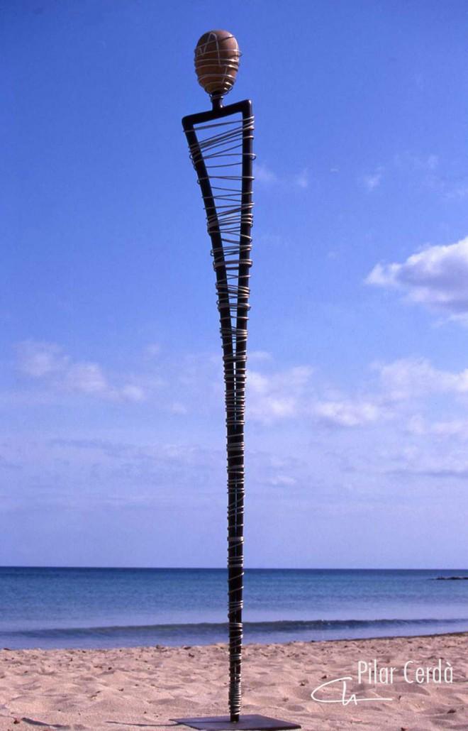 Escultura de Pilar Cerdà 'L'Altra Vorera'