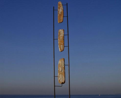 Escultura Pilar Cerdà 'Diàleg amb zeus II'