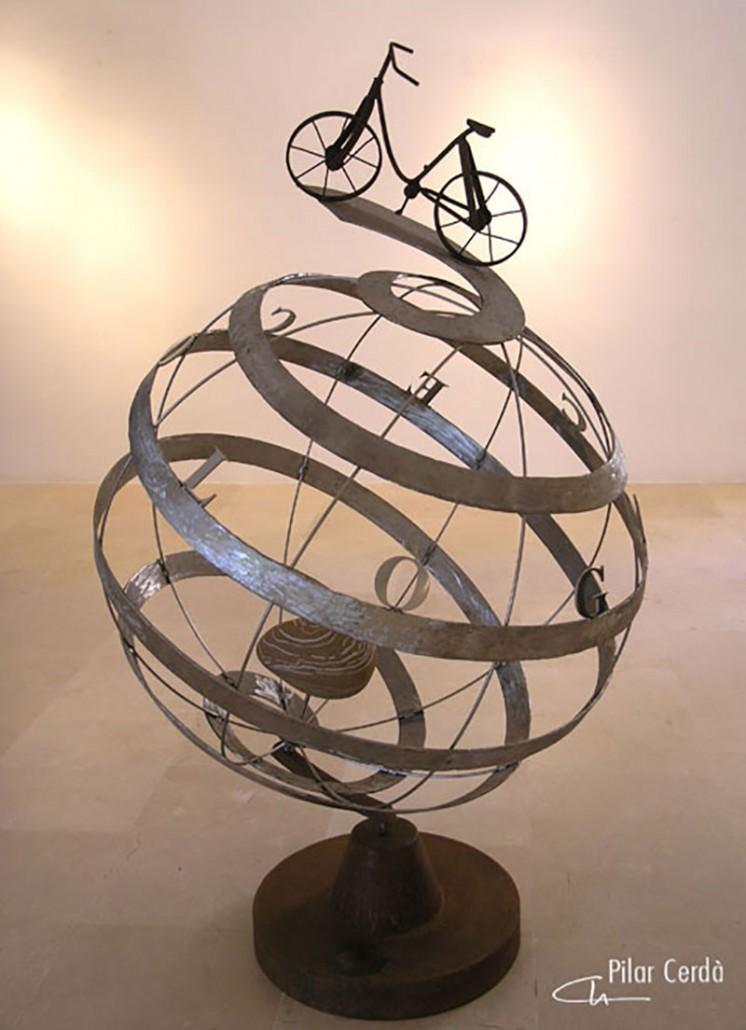 Escultura Pilar Cerdà 'La Música més íntima'