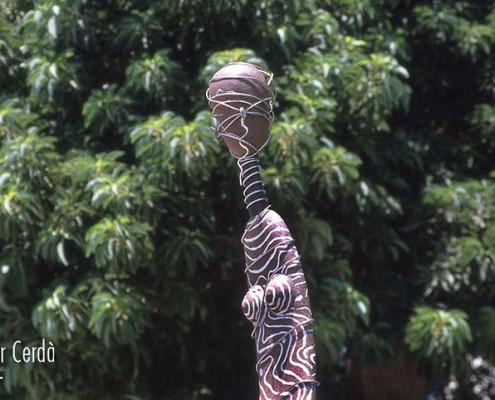 Escultura de Pilar Cerdà 'Instant creixent'