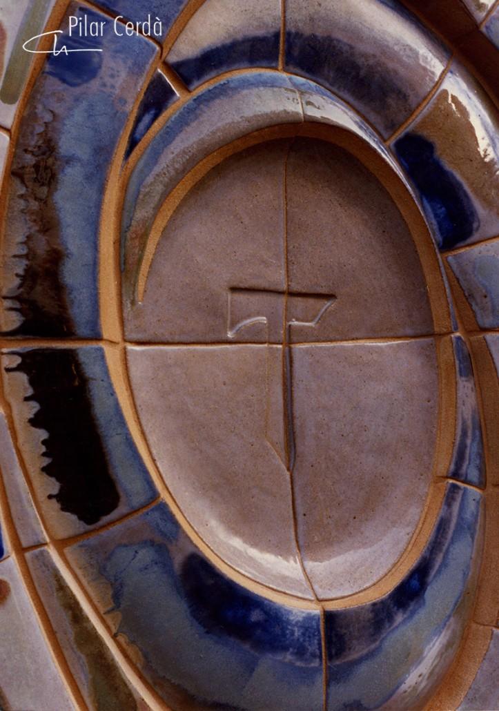 Mural Pilar Cerdà 'Espiral'