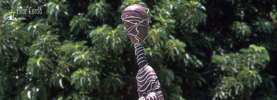 Escultura Pilar Cerdà 'Instant creixent'