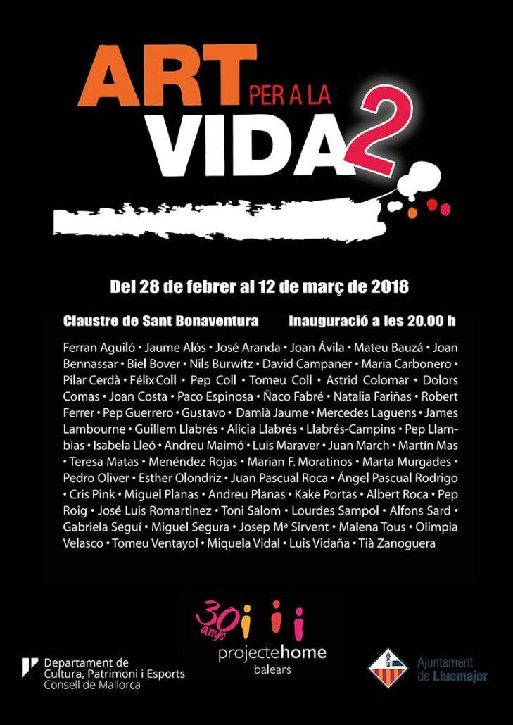 Exposición 'Art per la vida 2'