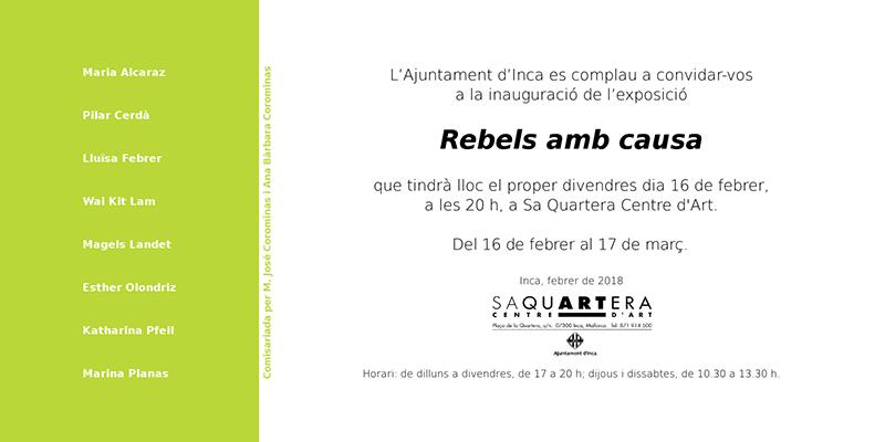 Invitación Exposición Pilar Cerdà