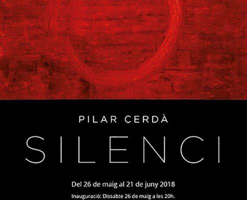 Poster Exposición 'Silenci'