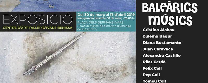 Exposición 'Baleàrics Músics' Cartel.