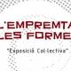 Cartel 'Empremta de les formes VI'