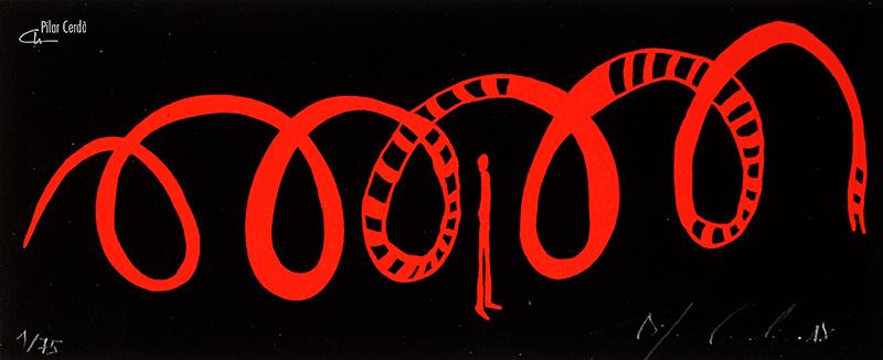 Serigrafia 'Presencia'
