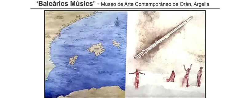 Cartel 'Baleárics Músics' Orán, Argelia