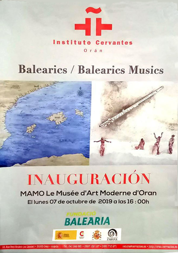 Exposición 'Baleàrics Músics' Cartel