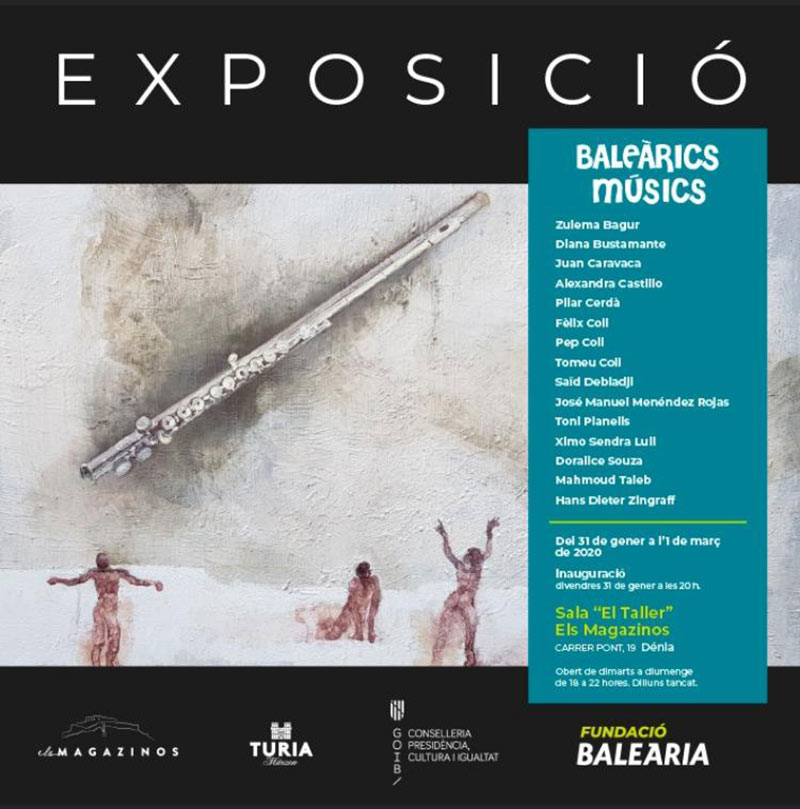 Exposición Colectiva 'Baleàrics Músics' Denia.